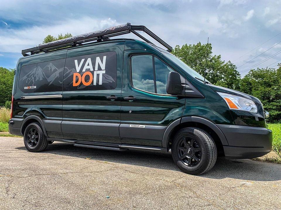 Green Goddess Vandoit Campervan Adventurevan Conversionvan