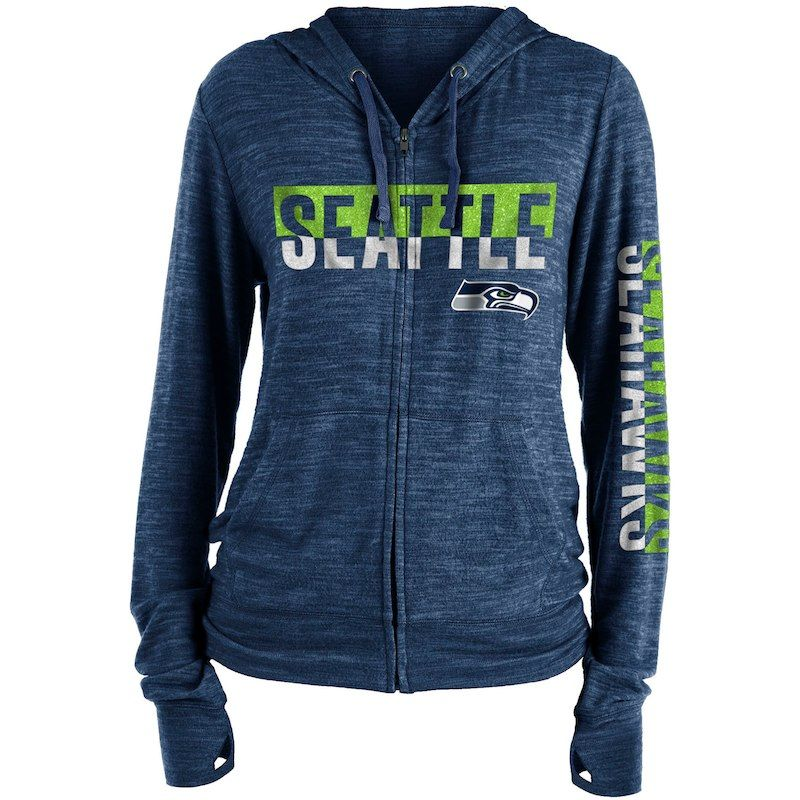 brand new 54daa 84e85 Seattle Seahawks New Era Women's Glitter Sweater Knit Tri ...
