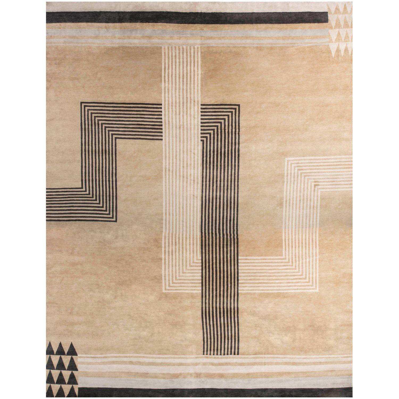 Oversized Marion Dorn Inspired Deco Rug  Art deco rugs, Asian