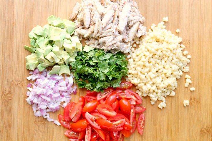 crab and corn salad ingredients