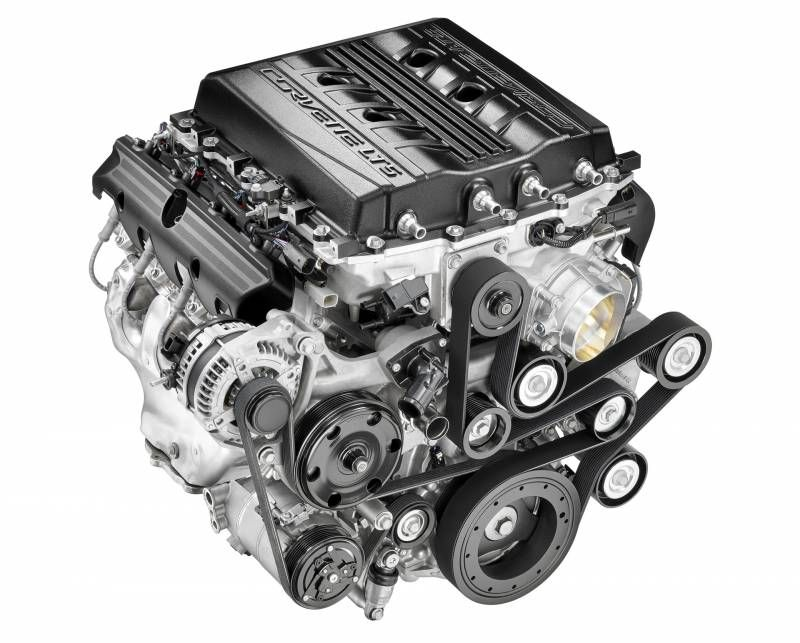 Chevrolet Performance Gen V Lt5 Crate Engine 755hp And 715 Lb Ft