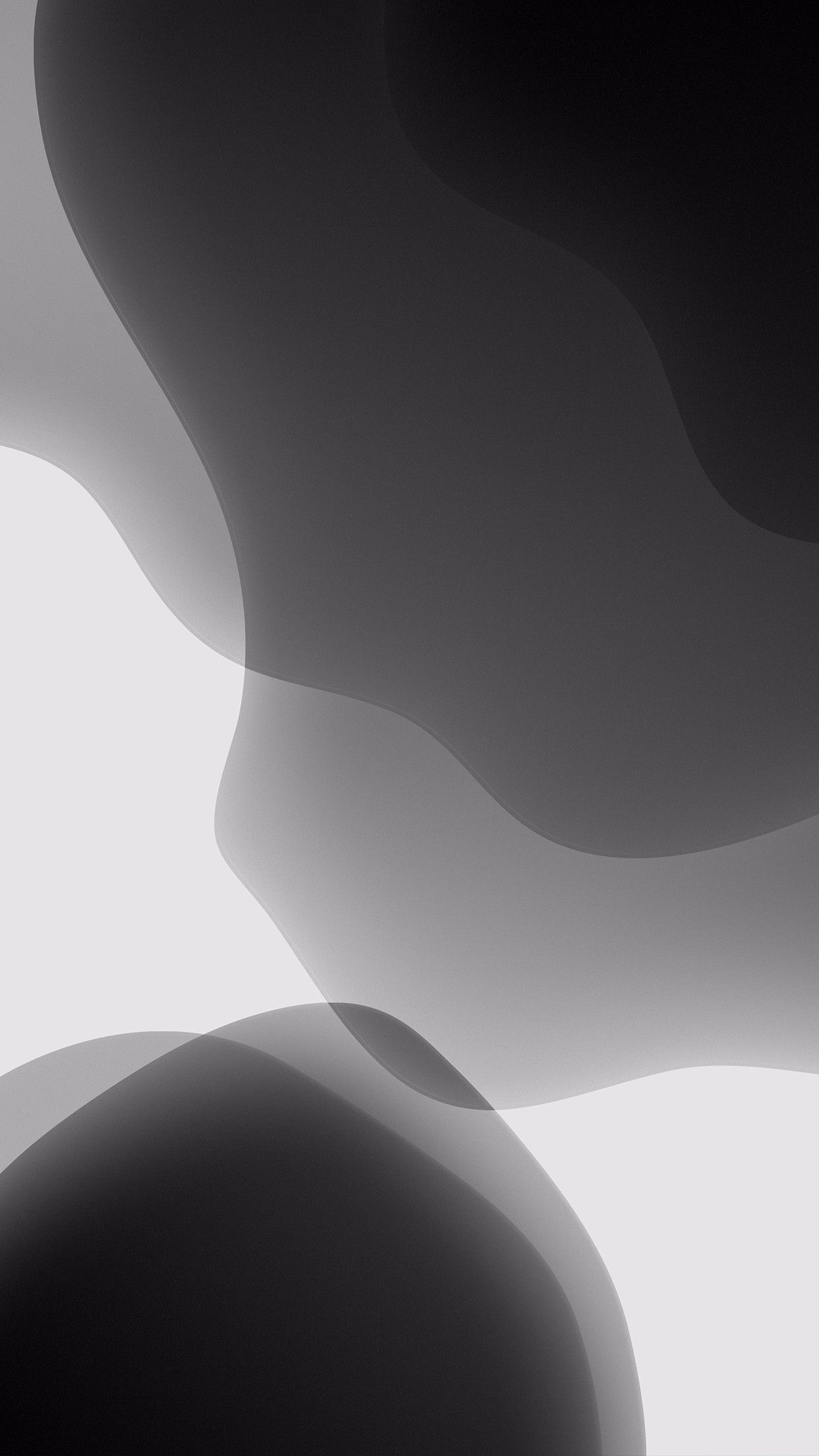 Blue iOS 13 redo by AR72014 on Twitter New wallpaper