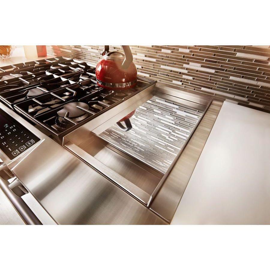 Kitchenaid 7 burners 41cu ft22cu ft selfcleaning
