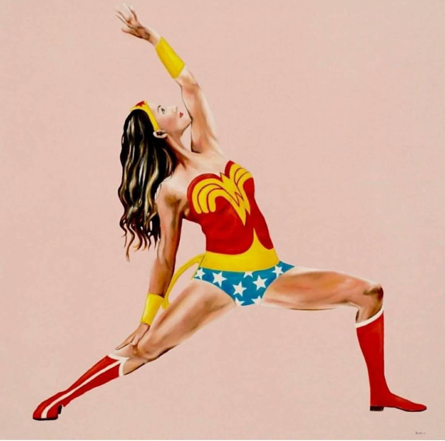 45+ Wonder woman yoga pose trends