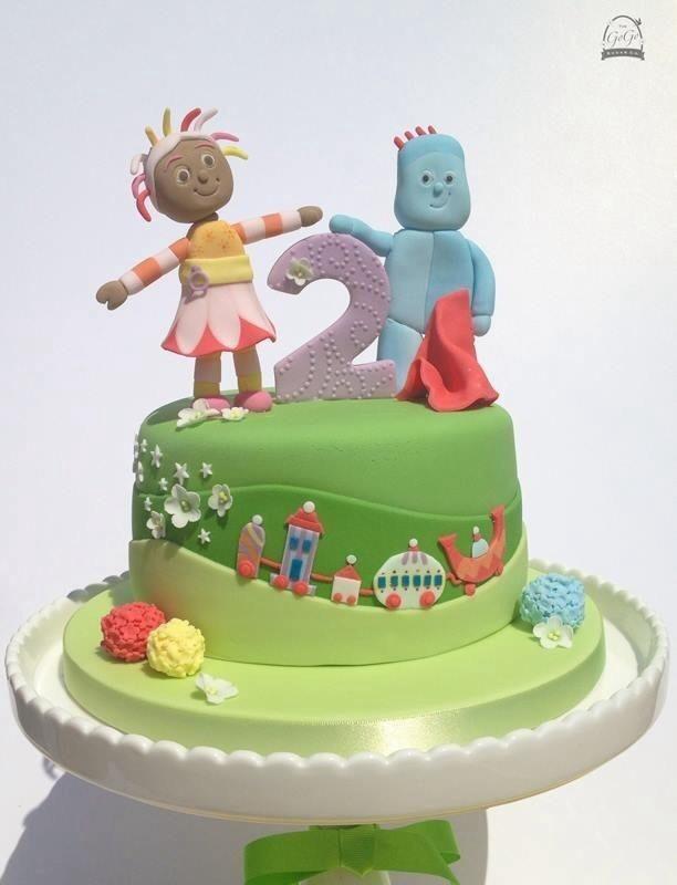 In The Night Garden cake   Cake inspiration   Pinterest   Night ...