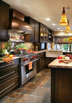 Best Transitional With A Twist Transitional Kitchen With Dark 400 x 300