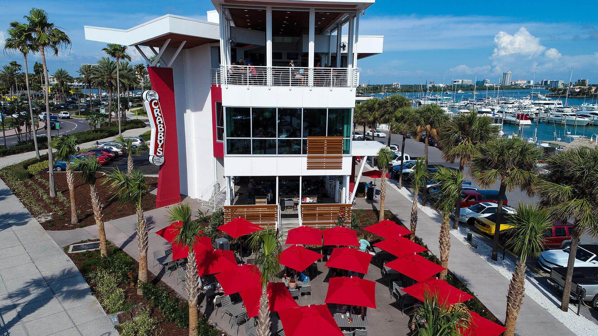 2019 March Spring Break Clearwater Fl Crabby S Dockside Clearwater Beach Florida Clearwater Beach Clearwater Beach Fl