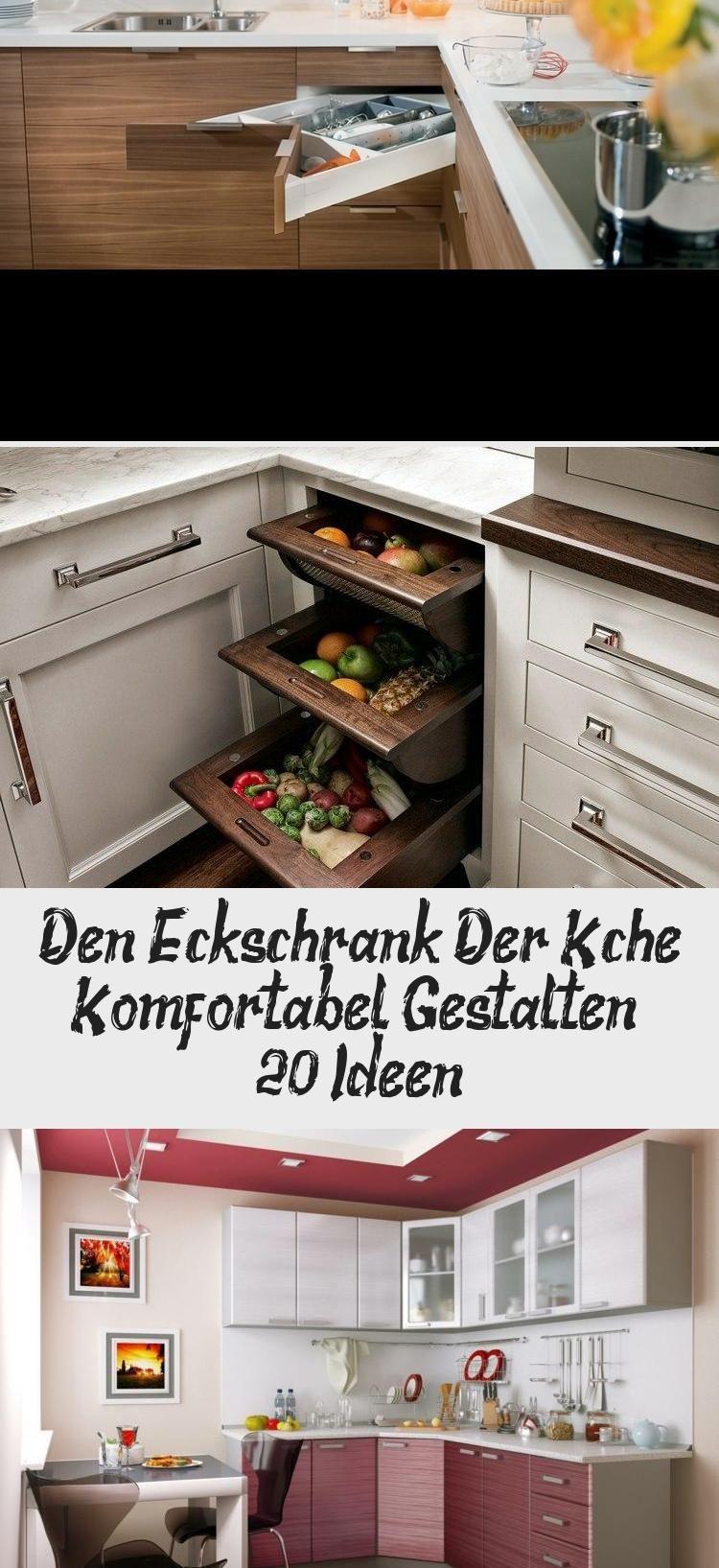 Den Eckschrank Der Kuche Komfortabel Gestalten 20 Ideen Kitchen Cabinets Kitchen Wall Oven