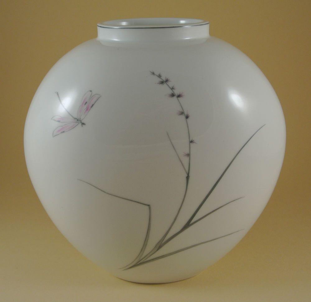 kpm vase design trude petri 50er jahre 50s porcelain vase germany trude petri vase. Black Bedroom Furniture Sets. Home Design Ideas