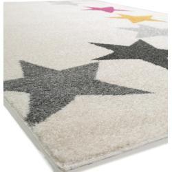 Photo of benuta Kids Kinderteppich Fantasia Beige 160×230 cm – Kinderteppich mit Sternen