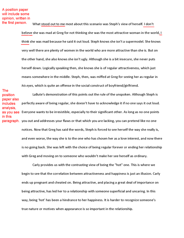 Good Application Essays Write An Effective Response Paper With These Tips Stating Your Opinion  Opinion Essay Examples Essays On World Peace also Global Warming Argument Essay Write An Effective Response Paper With These Tips  Goals And  Claim Of Fact Essay Examples