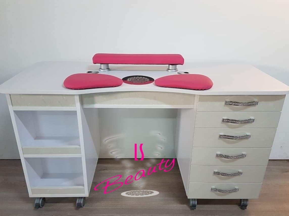 Customisable manicure tables from manufacturer Manicure