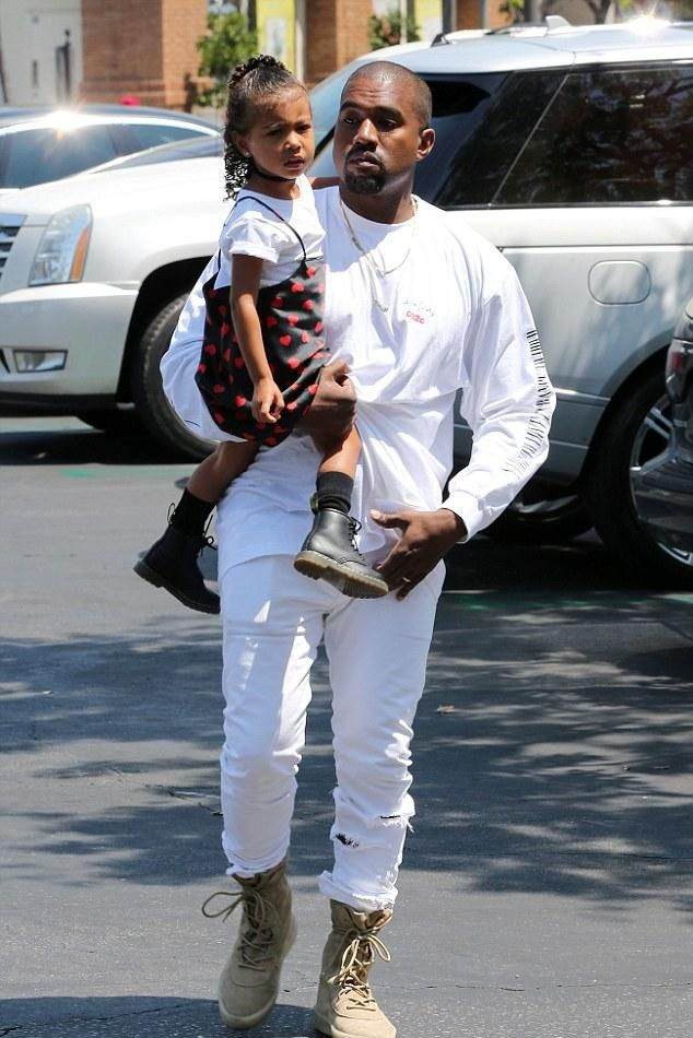 d0efe880b837 Kanye West wearing Yeezy Season 2 Taupe Crepe Boots and 032c Sade Love  Longsleeeve T-Shirt