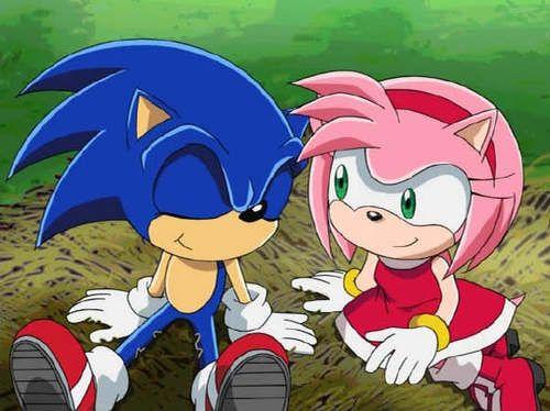 Sonic And Amy Sonic And Shadow Sonic And Amy Sonic Art