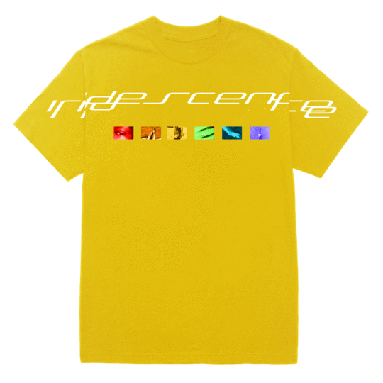 'iridescence' spectrum tee (yellow) + digital album bundle