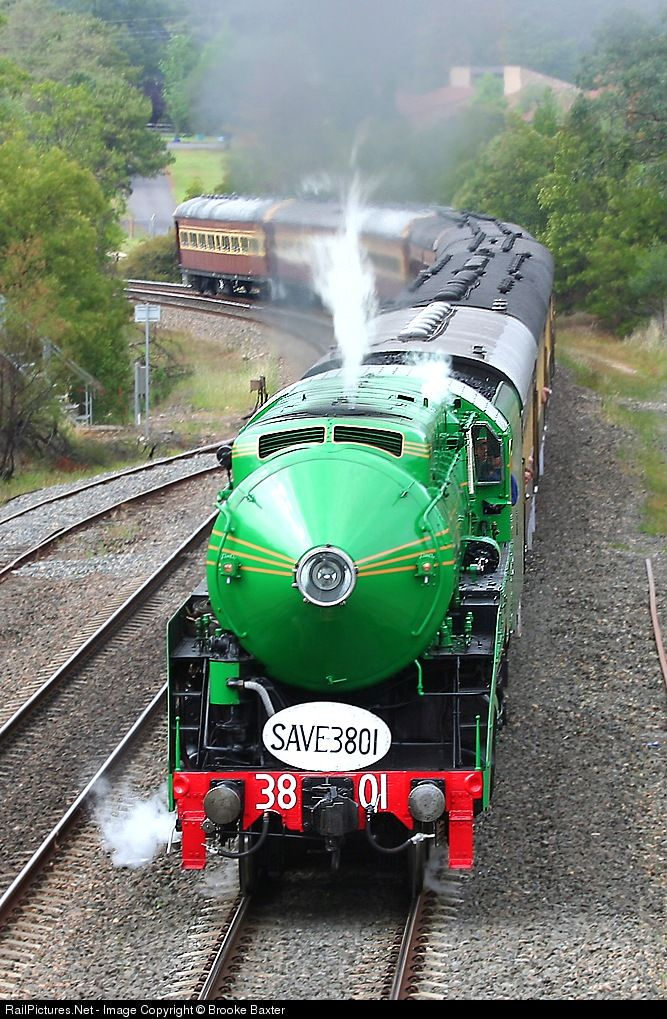3801 Limited Clyde Engineering 4-6-2 C38 Class Locomotive at