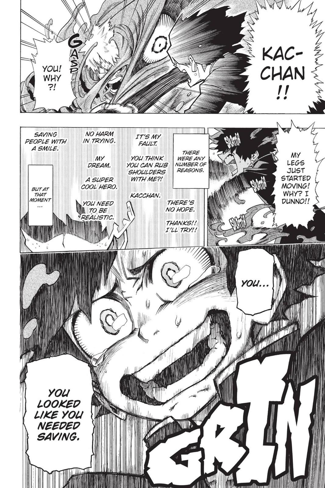Boku No Hero Academia Chapter 1 My Hero Academia Manga Boku
