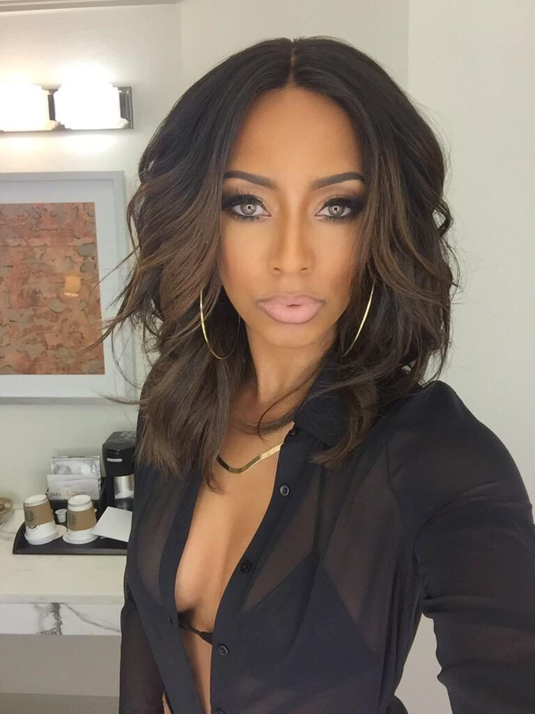 keri hilson's curly blonde hairstyle | celebrities' hairstyles
