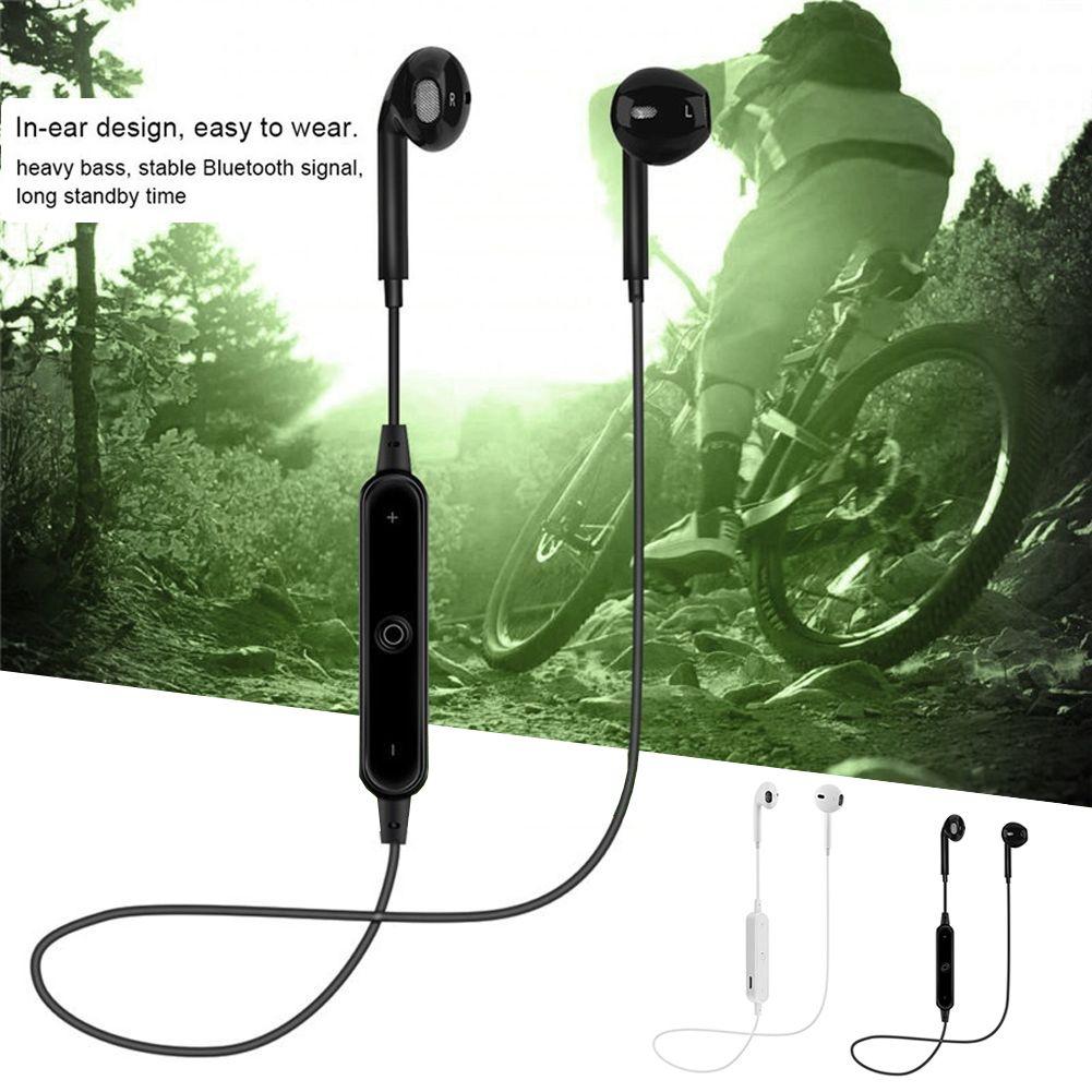 3 19 Bluetooth Wireless Headset Earpods For Iphone Samsung Galaxy S6 Stereo Mic Cvc Afflink Bluetooth Wirele Samsung Galaxy S6 Galaxy S6 Wireless Headset