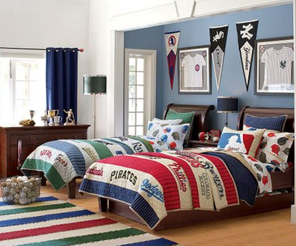 Boys Sports Room boy badroom soccer decorate design ideahome designs marci coombs
