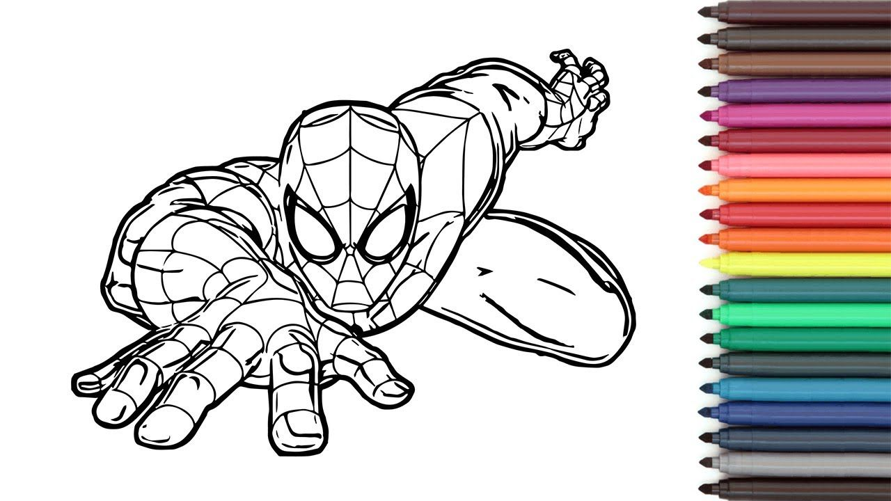 Spider Man Coloring Page Spiderman Coloring Book Spiderman Coloring Marvel Coloring Coloring Books