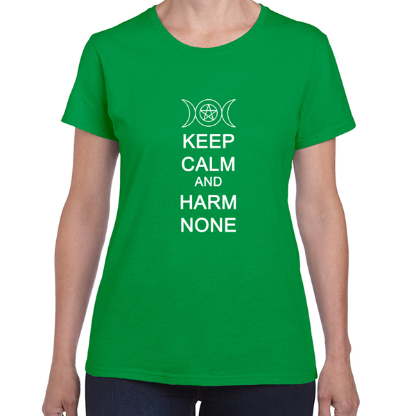Harm None Womens T-Shirt