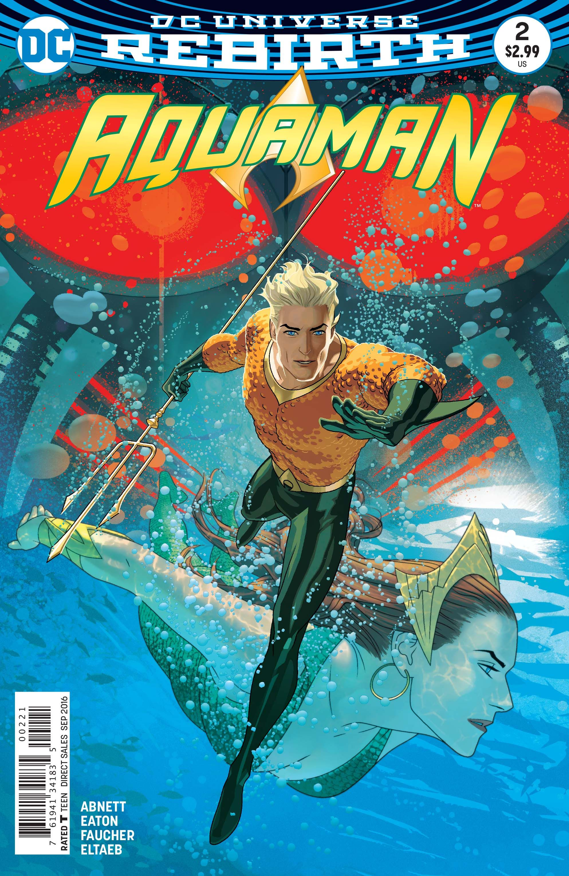 Comic Book Review Aquaman 2 Aquaman dc comics, Comics