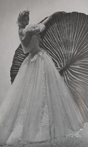 Vintage Chanel Dress Andre Durst 1930's Vogue fashion