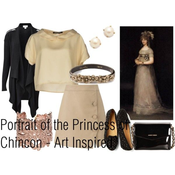 """Portrait of the Princess of Chincon"" on Polyvore"