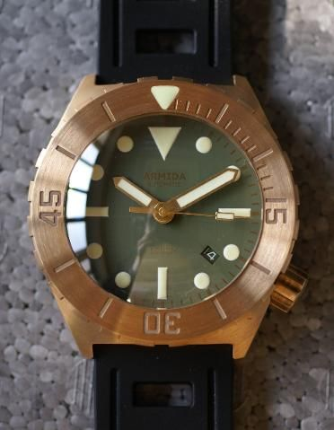 ARMIDA A1 brass 42mm 300m Diver NH35 is here - Page 45