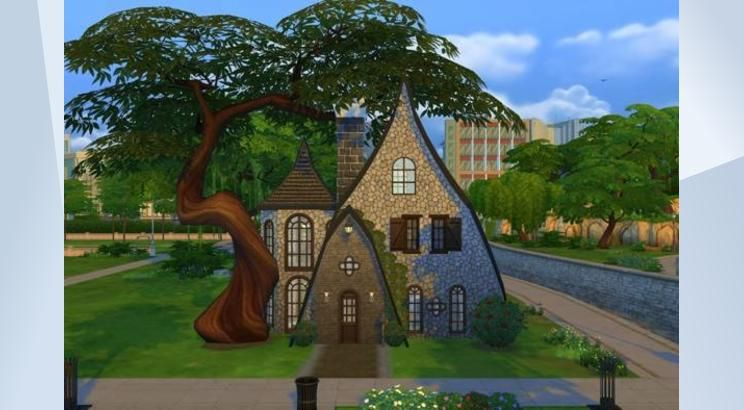 Check out this lot in The Sims 4 Gallery! - This is a nicely decorated #Witch #Starter #Home. Enjoy! #NoCC, #Small, #Cottage, #Cheap, #Magic, #Magical, #Karrterr12