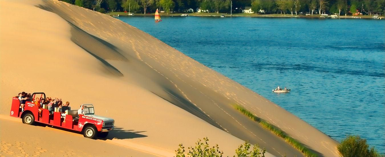 Silver Lake Sand Dunes Michigan