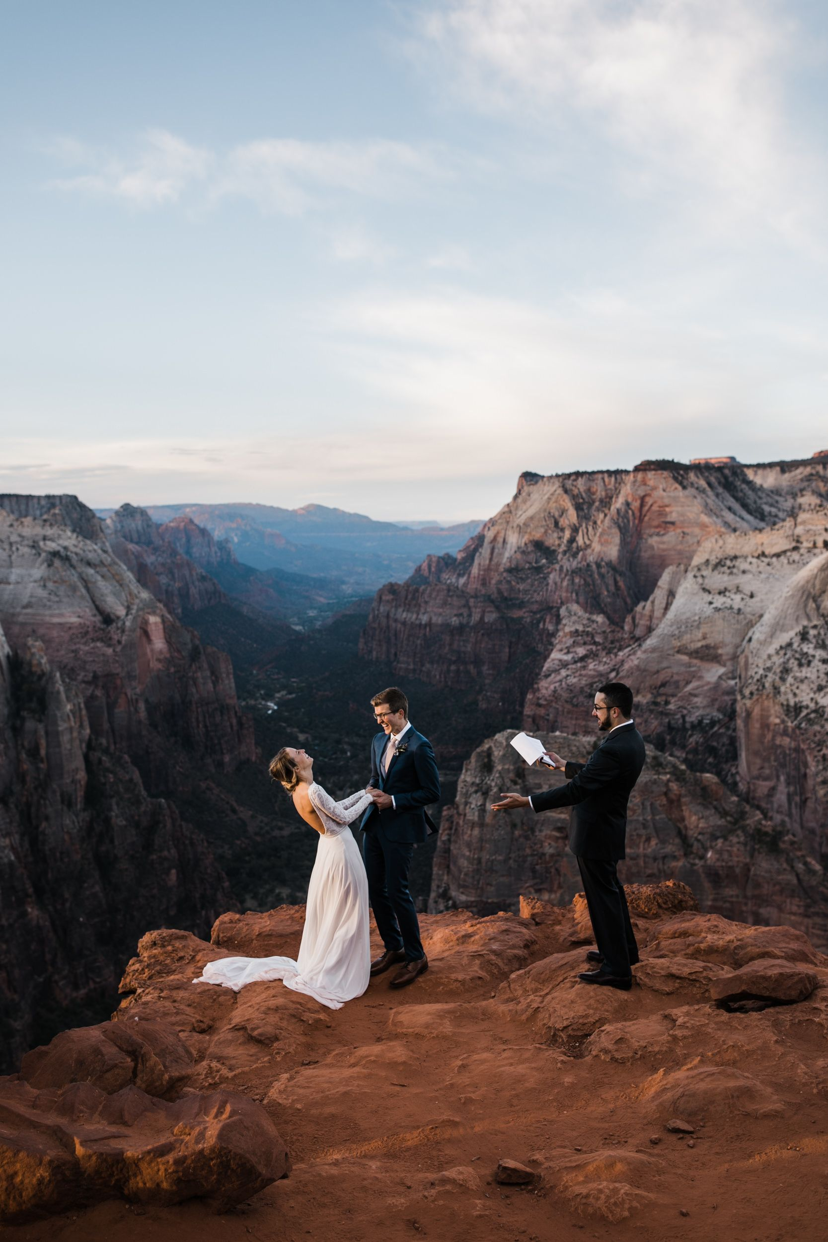 Zion National Park Hiking Elopement Utah Adventure Wedding Photographer Adventure Wedding Elopement Photographers In Moab Yosemite And Beyond The Hear Elope Wedding Adventure Wedding Photographer Adventure Wedding