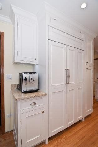 Custom White Inlay Cabinets   Google Search