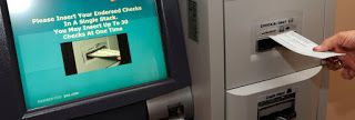 Cheque Deposit Kiosk are that it accepts unlimited business transaction effortlessly. this devices is to help the customers reduce the complication of business transactions.