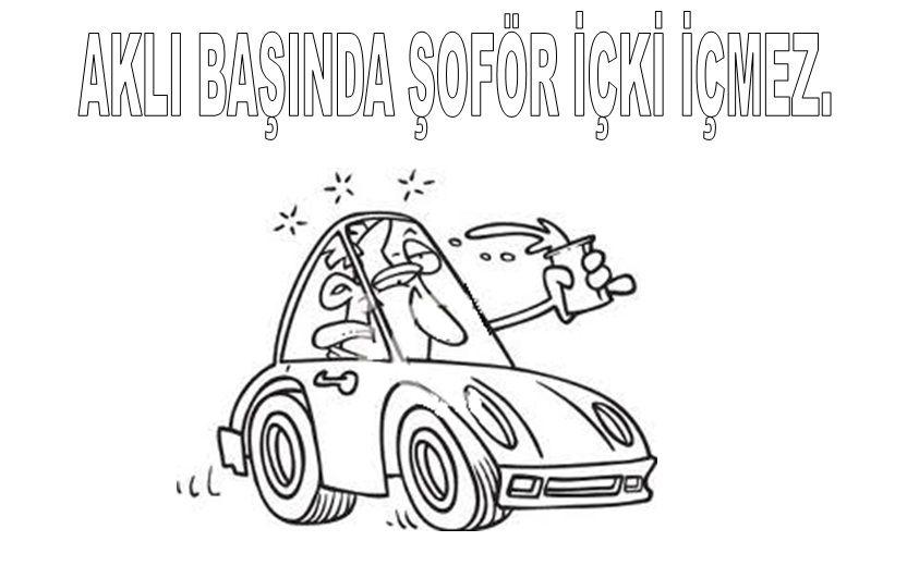 Yeşilay Haftası Boyama Sayfalari