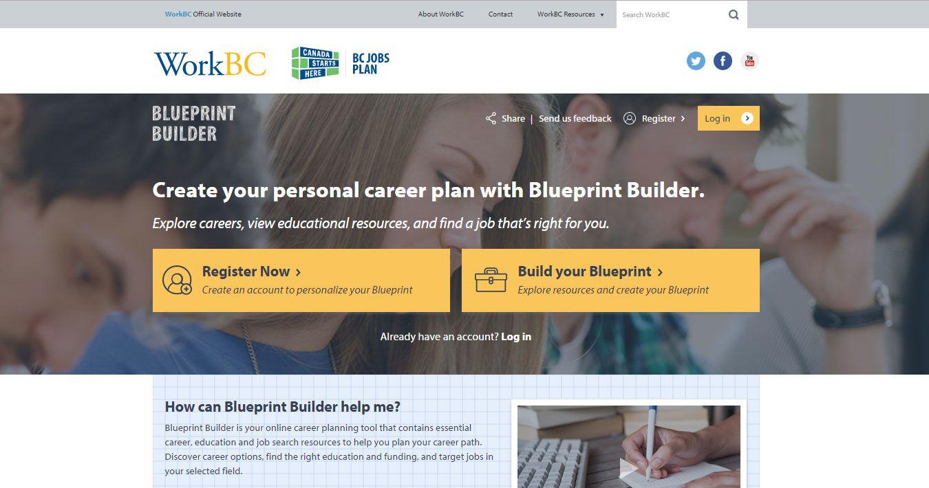 Visit workbcblueprintbuilder to create your career blueprint visit workbcblueprintbuilder to create your career blueprint explore career malvernweather Images