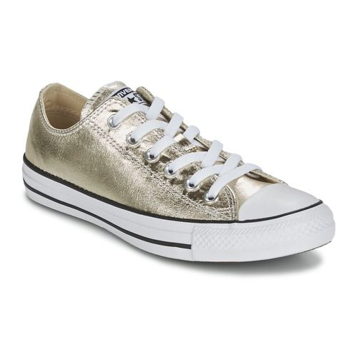 Converse CHUCK TAYLOR ALL STAR METALLICS OX GOLD / White