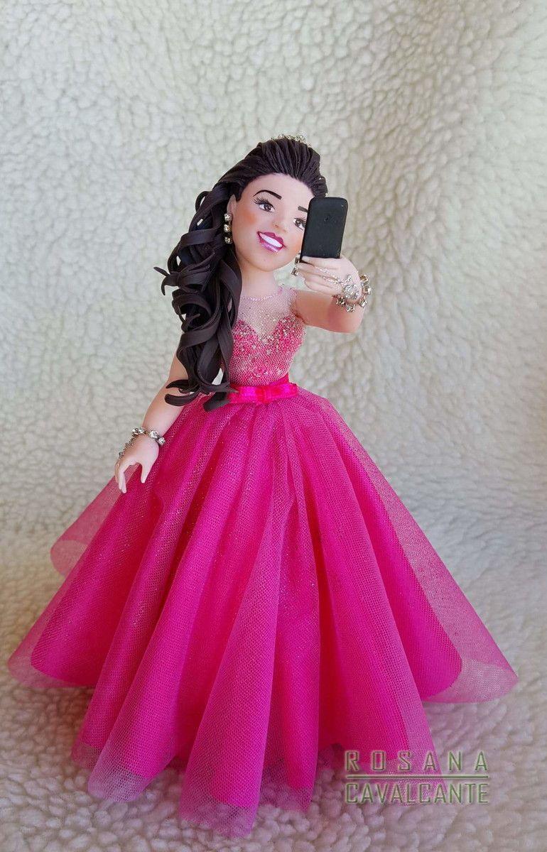 Topo Debutante Selfie - Vestido Rosa Pink 1 | Porcelana fría ...
