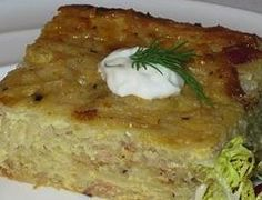 Kugelis Potato Pudding Lithuanian Recipes Potato Pudding Food