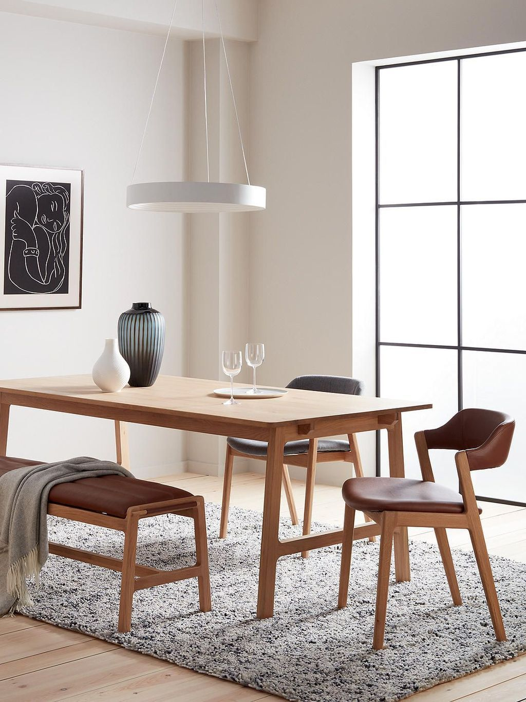 34 Stunning Contemporary Dining Chairs Design Ideas In 2020 Dining Table With Bench Contemporary Dining Chair Design Dining Chair Design