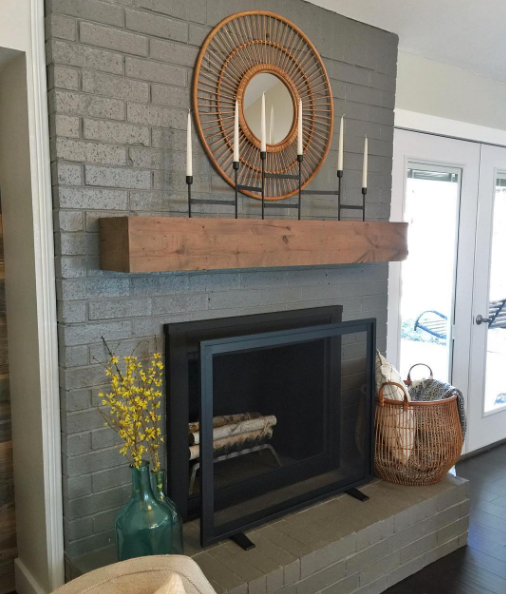 How To Paint A Brick Fireplace And The Best Paint To Use