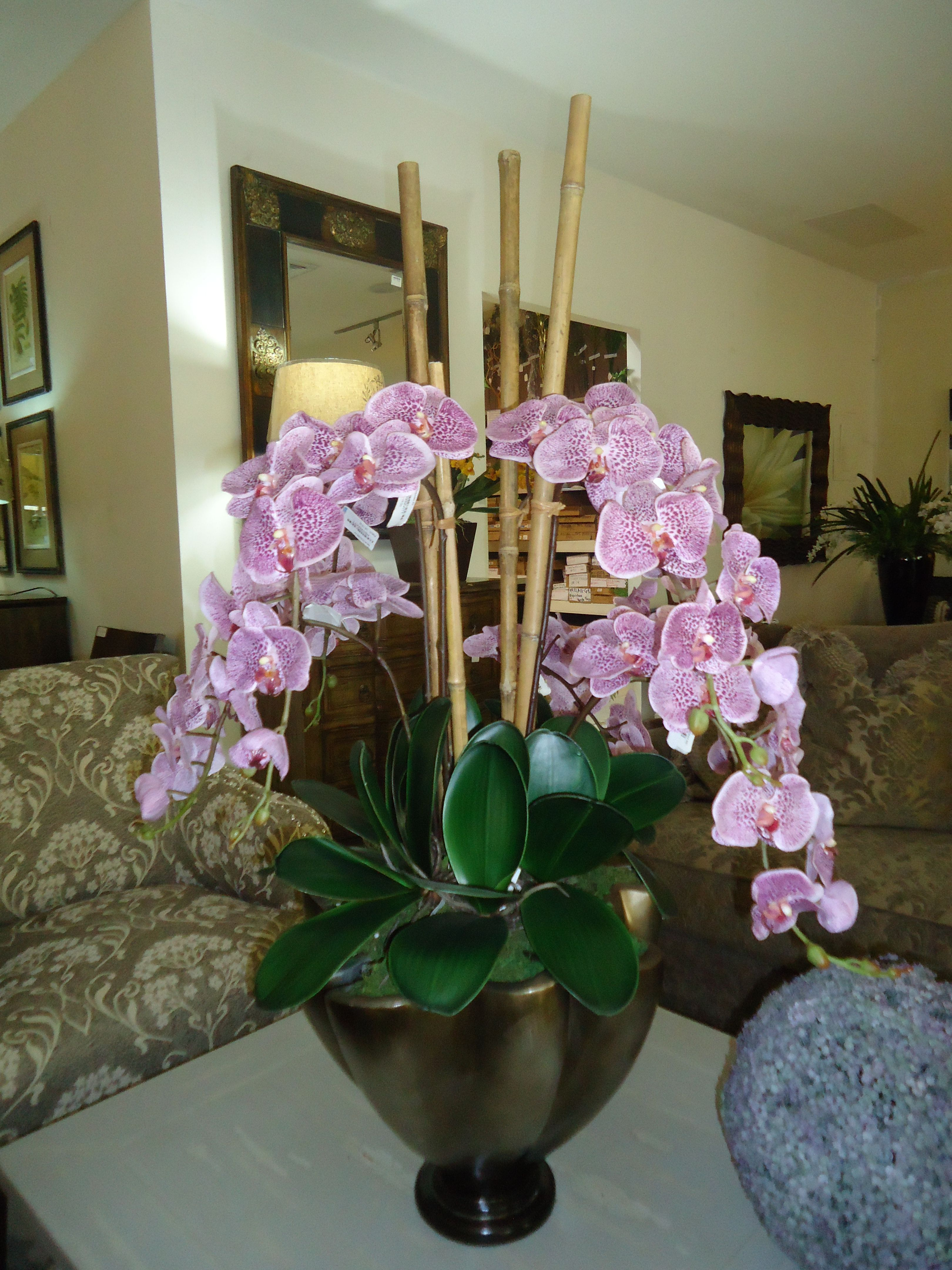 Orquideas Nuestras Flores Decoracion De Floreros