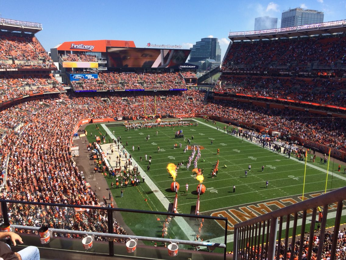 First energy stadium in cleveland sports arena football