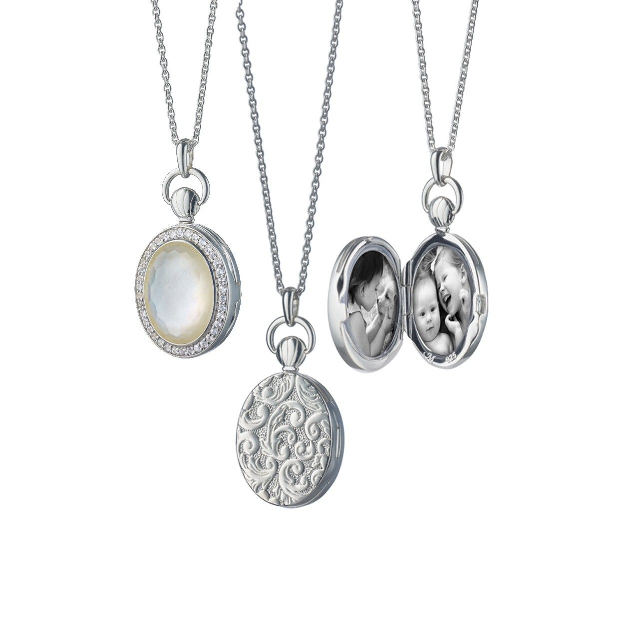 gold opens compass and silver a locket that lockets jewellery sapphire pendants