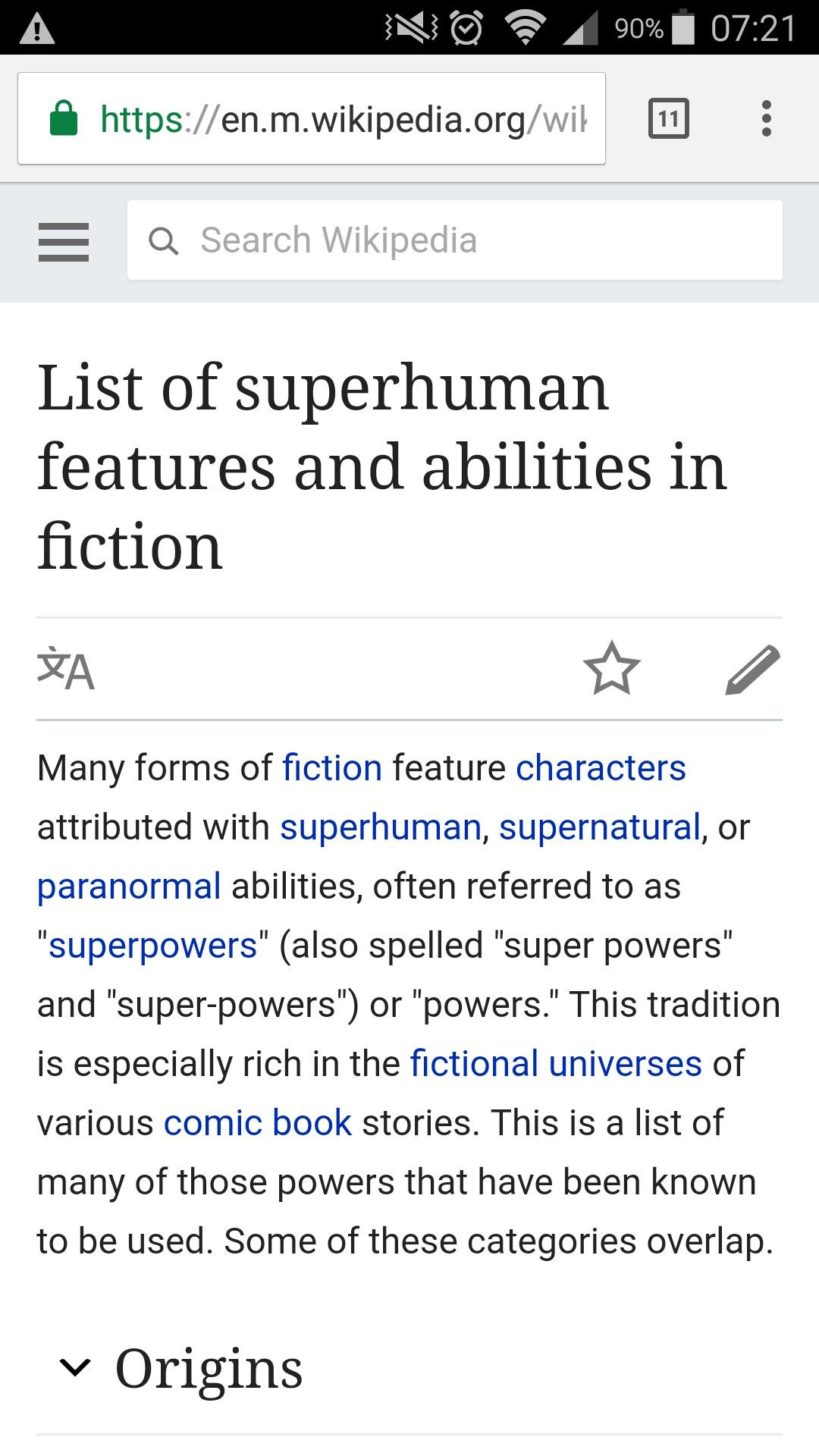 List Of Superhuman Features And Abilities In Fiction