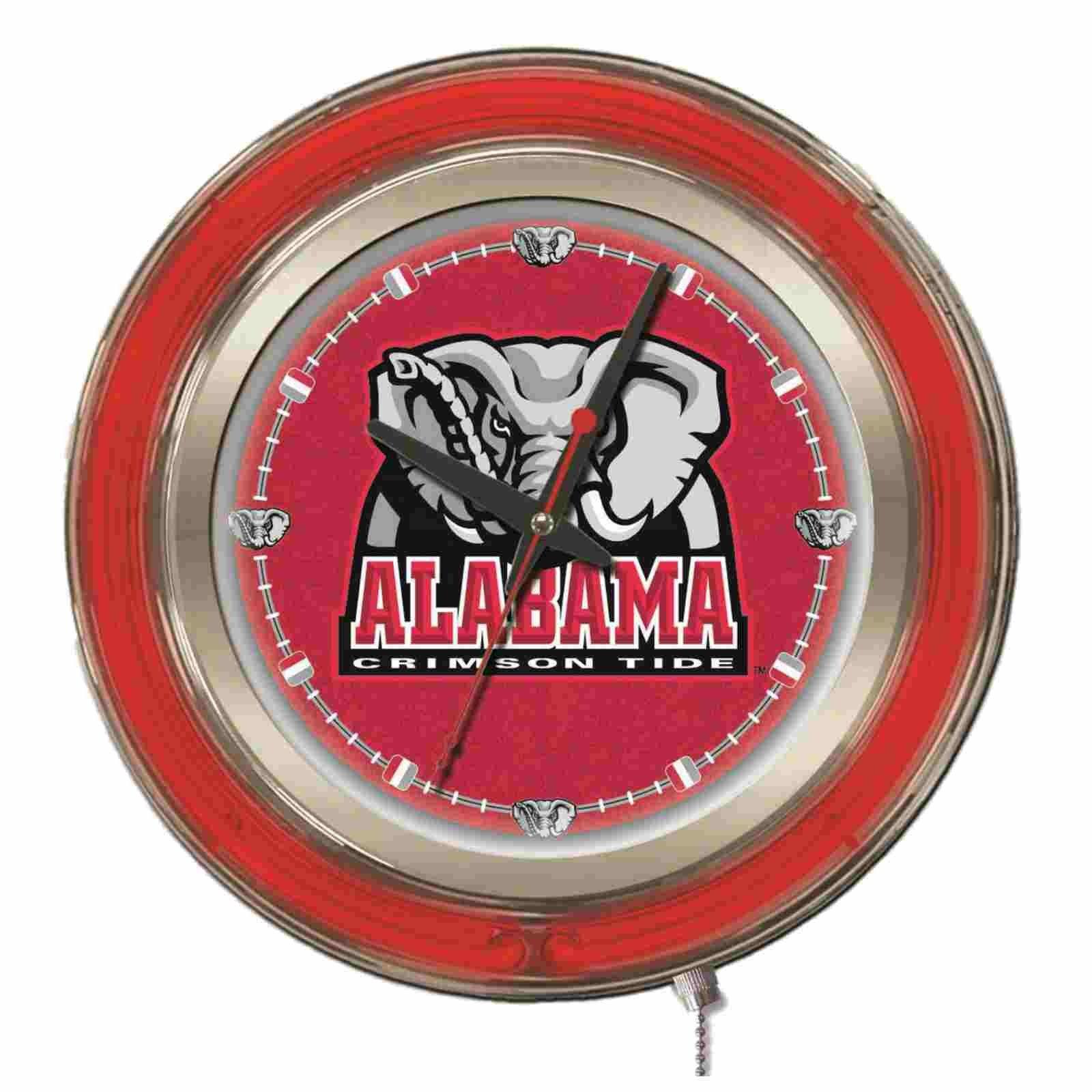Alabama Crimson Tide Hbs Neon Red Elephant Battery Powered