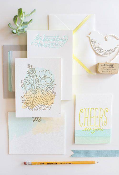 DesignSponge Biz Ladies - beautiful stationery business based in rural Iowa