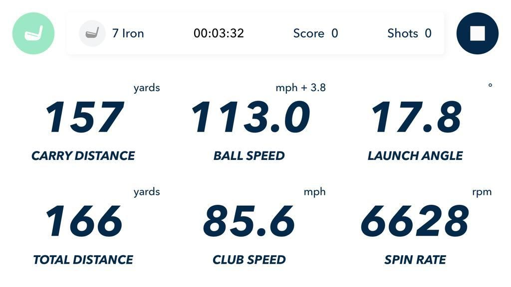 Mobile phone golf launch monitor this app turns your
