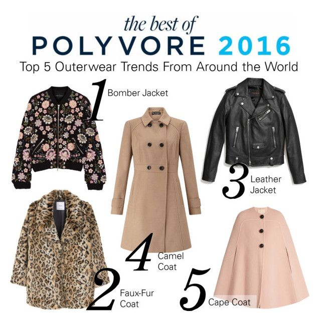"""Top 5 Outerwear Trends From Around the World"" by polyvore ❤ liked on Polyvore featuring Needle & Thread, MANGO, Coach, Miss Selfridge and Roksanda"